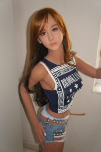 Avril is an asian love doll and while small, extremely realistic. Hard to tell the difference from a human. She is definitely one of the worlds best sex dolls with this price